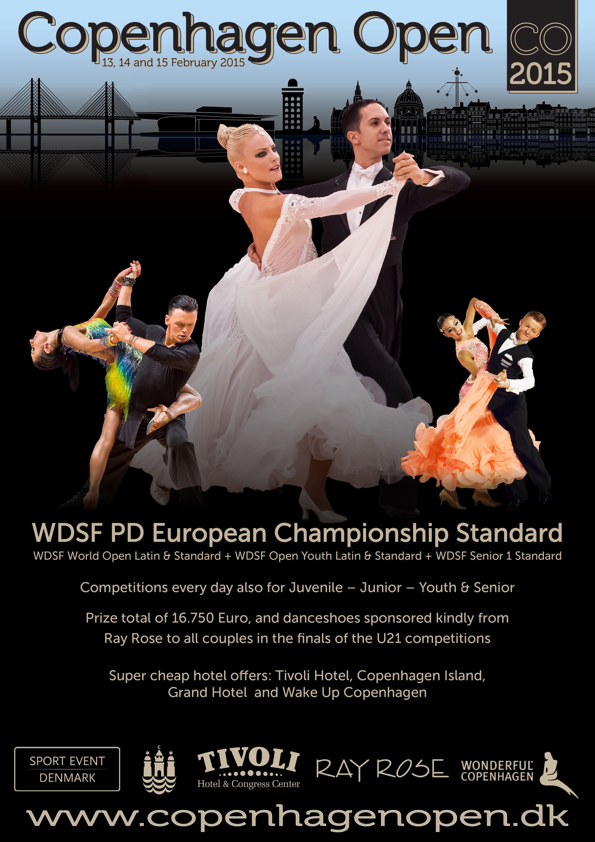 Copenhagen Open 2015 & WDSF PD European Championship Standard