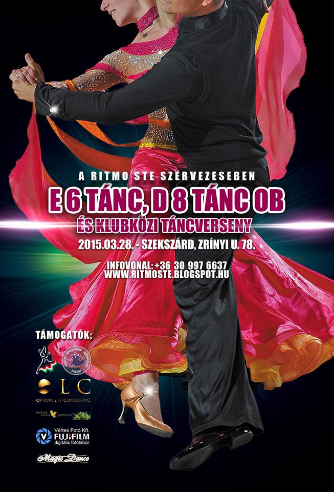 E 6Tánc-D 8Tánc OB és Klubközi verseny